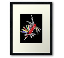 Pocket Art Framed Print