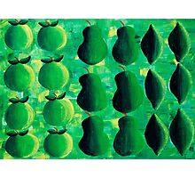 Apples Pears and Limes Photographic Print