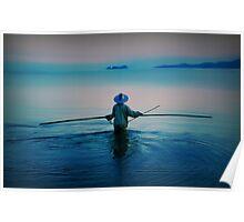 Thai Fisherman Poster