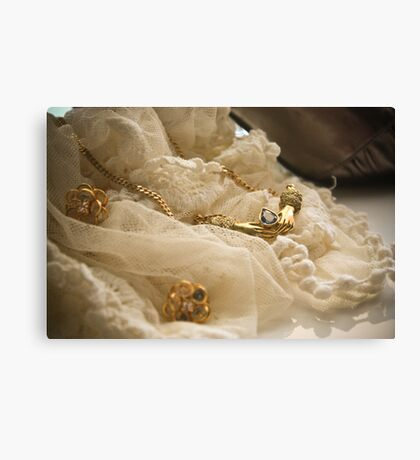 Shiney things Canvas Print
