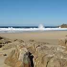 Little Bay, South West Rocks, N.S.W. Australia. by Mywildscapepics