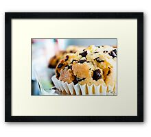 Muffin top? Don't mind if I do... Framed Print