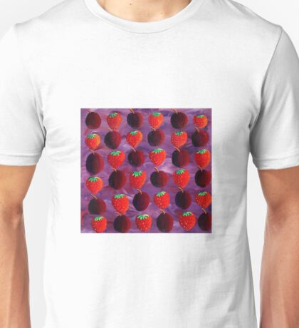 Strawberries and Plums Unisex T-Shirt