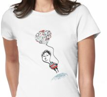 Love Balloon Womens Fitted T-Shirt