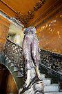 Staircase to La guarida, Havana, Cuba by David Carton