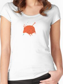 Water Buffalo Love Women's Fitted Scoop T-Shirt