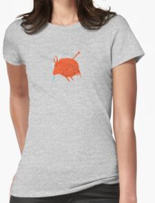 Water Buffalo Love Womens Fitted T-Shirt