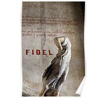 Headless statue at La Guarida, Havana Poster