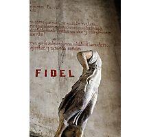 Headless statue at La Guarida, Havana Photographic Print