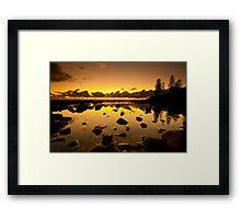 Burleigh Dawn Framed Print