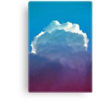 icecream skies Canvas Print
