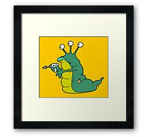 Planet Worm Framed Print