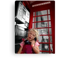 Chatterbox Canvas Print