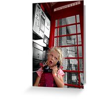 Chatterbox Greeting Card