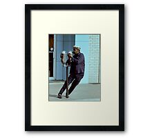 Stop The World I Want to Get off Framed Print
