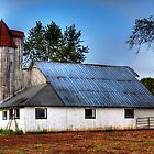 Danville barn by David Owens