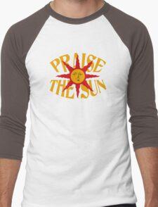Praise The Sun!  Men's Baseball ¾ T-Shirt