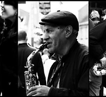 Triptych  -  The Beat on the Street (best large) by Berns