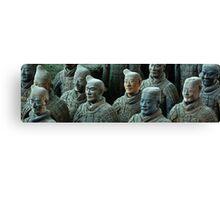 Terracotta Army Canvas Print
