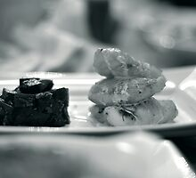 Monkfish and Beetroot by rorycobbe