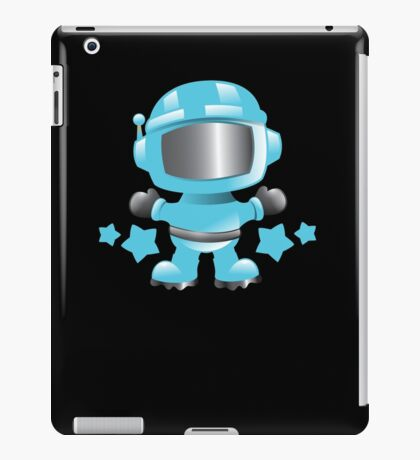Little cute Space man in a Blue space suit iPad Case/Skin