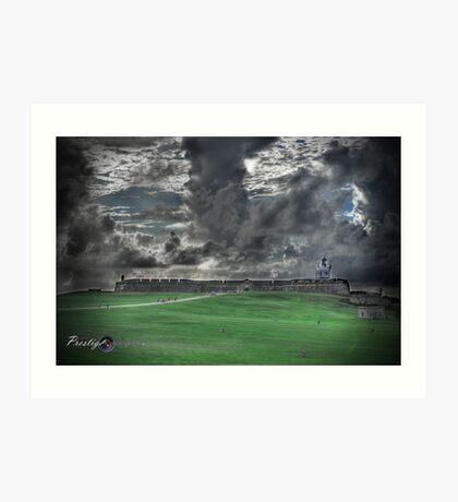 El Morro (HDR) Art Print