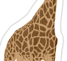 Laughing Giraffe - Taller Than You'll Ever Be Sticker