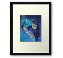 """Touching the ephemeral"" - from ""Whispers"" series Framed Print"