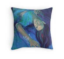 """""""Touching the ephemeral"""" - from """"Whispers"""" series Throw Pillow"""