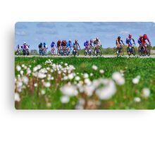 Giro d'Italia in Zeeland Canvas Print