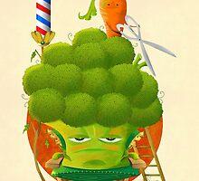 Broccoli Haircut by Bayu Sadewo