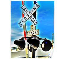 3 Tracks Poster