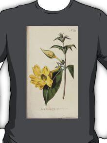 The Botanical magazine, or, Flower garden displayed by William Curtis V9 V10 1795 1796 0111 Allamanda Cathartica Willow Leaved Allamanda T-Shirt