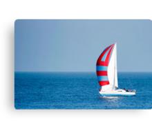 Sail ahoy! Canvas Print