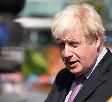 Boris Johnson, mayor of London by Keith Larby