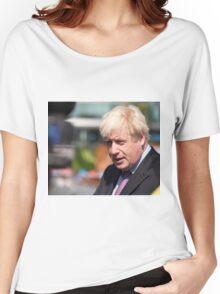 Boris Johnson, mayor of London Women's Relaxed Fit T-Shirt