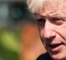 Boris Johnson, mayor of London Sticker
