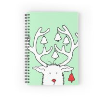 Jingle Reindeer Spiral Notebook