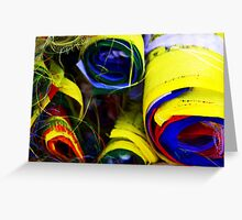 Primary Flags Greeting Card
