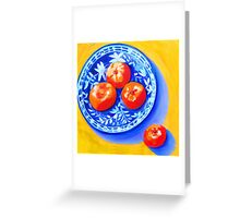 Mandarins Greeting Card