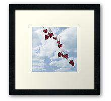 Heart Seeds - Version 2 Framed Print