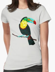 Terry The Toucan Womens Fitted T-Shirt
