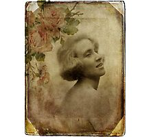 Vintage Beauty Photographic Print