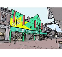 nerdvana waltham cross Photographic Print