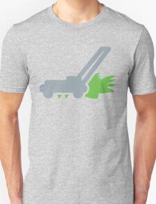 Lawn mower with cut grass T-Shirt