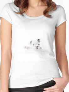 Frenchie Women's Fitted Scoop T-Shirt
