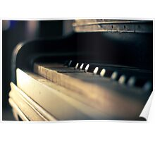 The piano #1 Poster