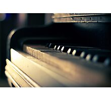 The piano #1 Photographic Print
