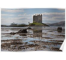 Castle Stalker - Loch Laich Poster