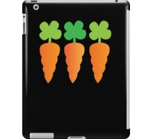Three carrots orange vegetables iPad Case/Skin